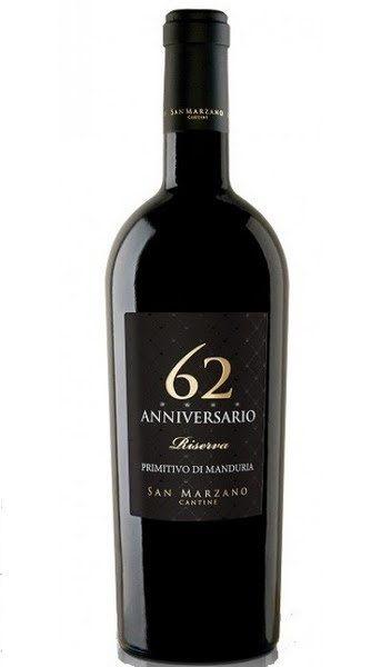 Vang Ý 62 Anniversario
