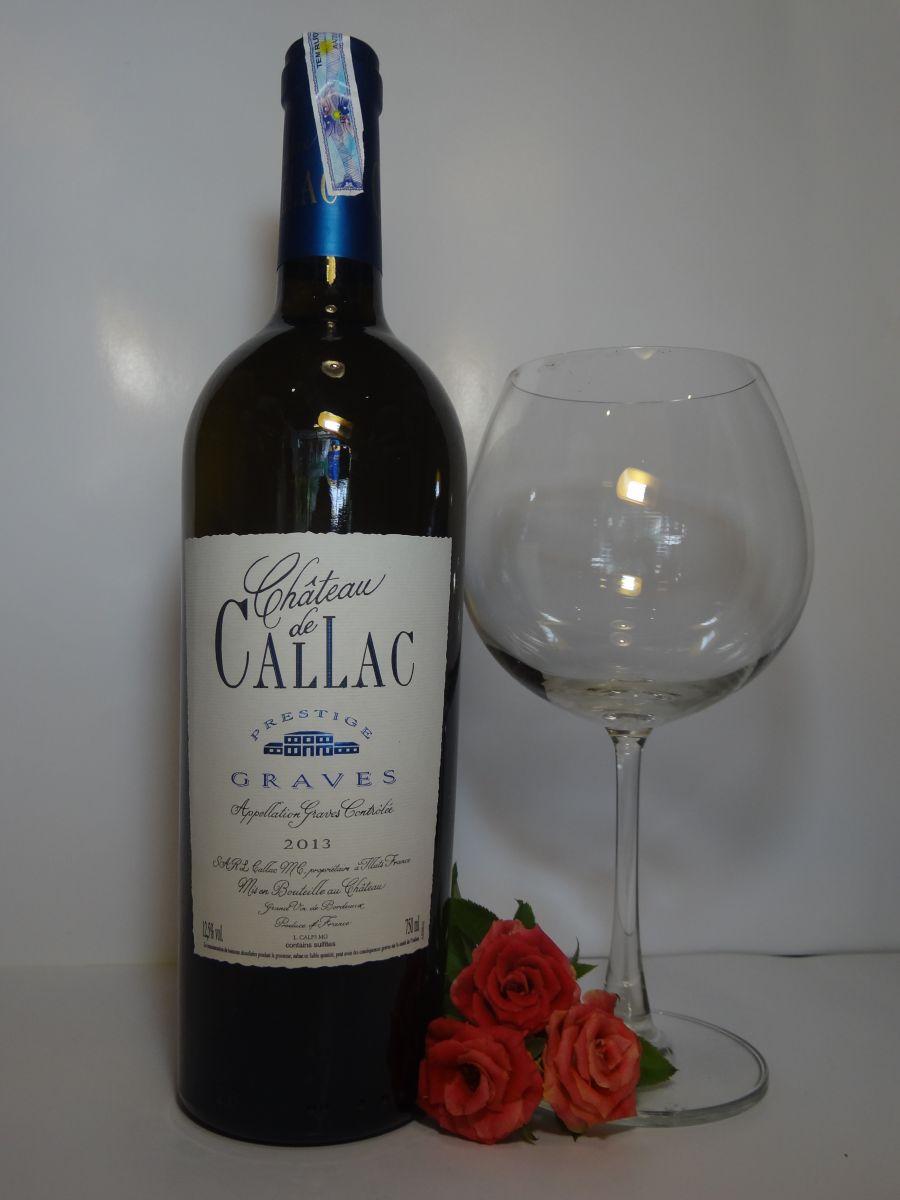 Chateau Callac Prestige Blanc