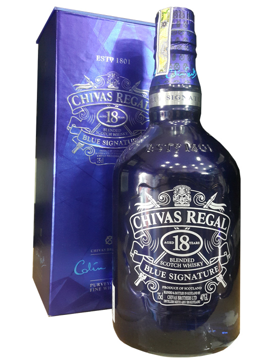 Chivas 18 Blue Signature