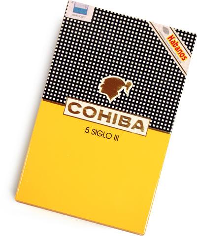 Cigar Cohiba Siglo III Cuba