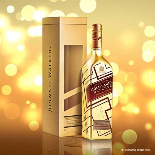 Johnnie Walker Gold Label Reserve Limited Edition - Chai vàng IBC